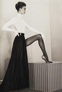 Photographer: Roe Ethridge  Stylist: Marie Chaix  Model: Karlie Kloss  ACNE Paper