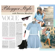 Blogger Style - Patrica Manfield by styligion on Polyvore featuring Mode, River Island and Bobbi Brown Cosmetics