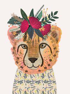 Cheetah-Mia Charro