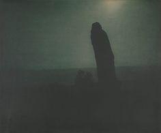 Edward Steichen - Balzac, The Silhouette—4 a.m, 1908