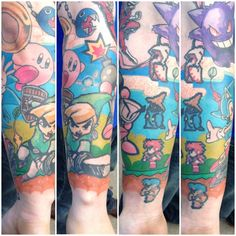 Gaming sleeve tattoos tattoos gaming tattoo, gamer tattoos и Gamer Tattoos, Cartoon Tattoos, Cool Tattoos, Tatoos, Awesome Tattoos, Anime Tattoos, Sleeve Gastrectomie, Gaming Tattoo, Behance
