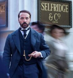 MR. SELFRIDGE - With Jeremy Piven is on Amazon Prime but not on Netflix Instant. #amazonprime