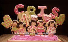 Experimentos con azúcar: Profesiones----baker cookie!