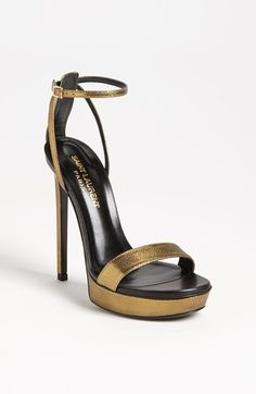 Saint Laurent Platform Sandal available at #Nordstrom