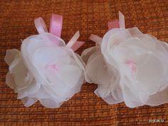 Hobby - Moje rękodzieło / gumka do włosów dla dziewczynki // Hobby - My crafts / elastic hair for girls