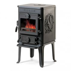 Morso 1410 Squirrel - Classic Cast Iron Wood Burning Stove