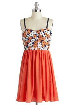 In My Closet: Stylish Surprise Spring 2014 // Graceful Gardener Dress, #ModCloth
