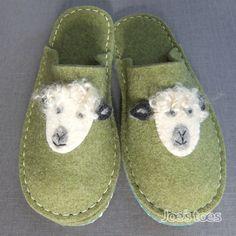 Joe's Toes - Make your own sheep slipper kit from Joe's Toes in wool felt