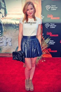 """Dove Cameron at the premiere of """"The Lone Ranger"""" June 22 2013"""