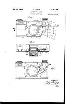 Patent US2187246 - Photographic camera - Google Patents (1940)