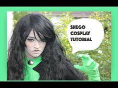 Shego Cosplay tutorial - YouTube