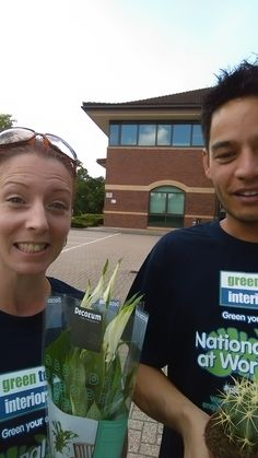 A great day at Brooklands Business Park yesterday for National Plants At Work Week... See you at Surrey Tech Centre in Guildford Today. Come and say hi!