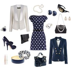 Dots Classy!, created by l-cyndi on Polyvore