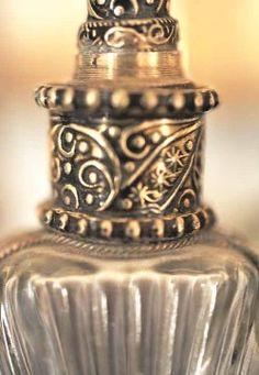 Moroccan perfume bottle