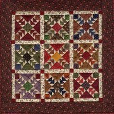 Miniature Quilts from Kathie Ratcliffe's Nine Patch Studio