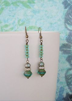 NEW  Boho Earrings Hollywood Regency Bohemian by BohoStyleMe