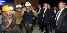 Mine disaster in Turkey. Photo anonymous