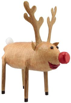 Reindeer - awesome recycling project!  And cute!!!