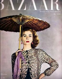 Suzy Parker May 1951 Bazaar Magazine Photographer: Louise Dahl-Wolfe