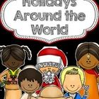 50% off for a limited time! :)  Here is a collection of printables that your students can fill out on some winter Holidays Around the World.  The H...