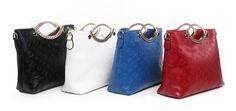 New Women's Fashion Soft Embossed PU Leather Big Bag Handbag Crossbody Bag, Tote Bag, Big Bags, All Things Beauty, New Woman, Fashion Handbags, Pu Leather, Purses And Bags, Fashion Accessories