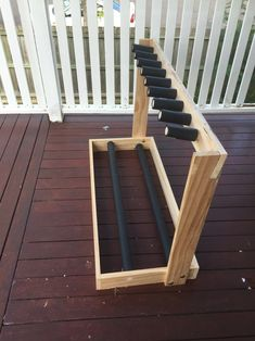 My recent DIY guitar rack build. $20 in bits from the hardware store. #guitar #rack #diy