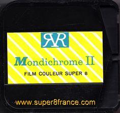 Le film Super 8 Mondichrome II qui était distribué et développé par la Redoute à Tourcoing peut être désormais développé par SUPER8FRANCE