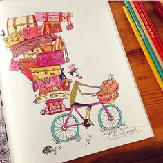 The Doodlers Anonymous Coloring Books Are A Compilation Of Offbeat Illustration Styles By Global Contemporary Artists Bound Together For Your