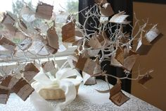 That Mama Gretchen: A Pampered Chef Bridal Shower  bridal shower wishing tree registry