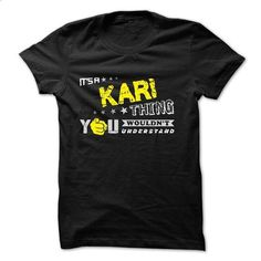 If your name is KARI then this is just for you - #white shirts #cool tshirt designs. PURCHASE NOW => https://www.sunfrog.com/Names/If-your-name-is-KARI-then-this-is-just-for-you-29855069-Guys.html?60505