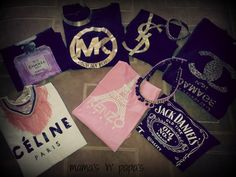 My lovely T- shirts!!~