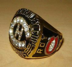 Habs ring Championship Rings, Montreal Canadiens, Hockey Teams, Class Ring, Sports, Sport