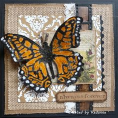 Redanne: Sizzix Layered Butterfly