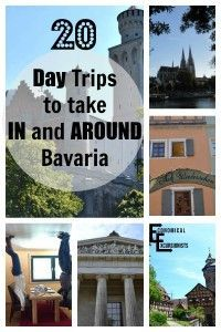 "Bavaria is everything stereotypical ""German"" but there is SO much to do! Here are 20, off the path things to do in and near Bavaria"