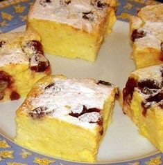 Sweet Desserts, Sweet Recipes, Graham Crackers, French Toast, Cheesecake, Good Food, Food And Drink, Gluten, Treats