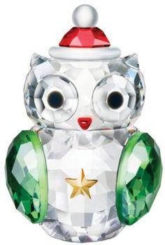 Swarovski Crystal Christmas Owl. Christmas 2013.