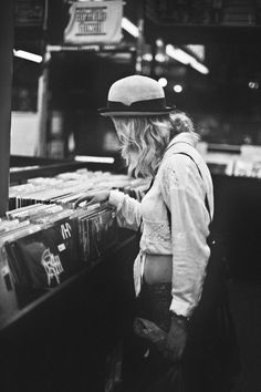 Time spent searching through a record store is NOT time wasted, even if you don't find anything to buy.