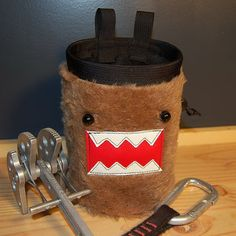domokun chalk bag! haha!!
