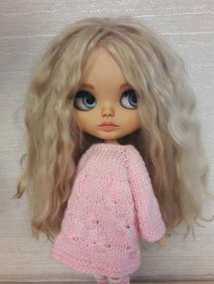 SOLD. Blythe Doll custom blythe custom doll Blythe ooak-blythe