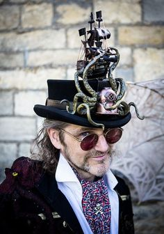 Image result for steampunk pirate octopus