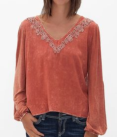 Gimmicks by BKE Washed Top at Buckle.com
