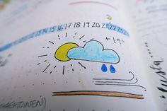 My bullet journal: Weather