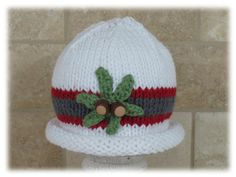 Hey, I found this really awesome Etsy listing at https://www.etsy.com/listing/173313631/hat-baby-hat-ohio-state-inspired-hat