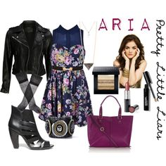 """Pretty Little Liars Fashion: Aria Montgomery"" by yanyaniel on Polyvore"