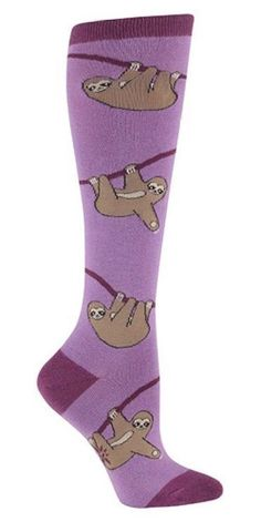 These perfect sloth socks.