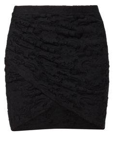 Vila - FEMME - Mini skirt - black