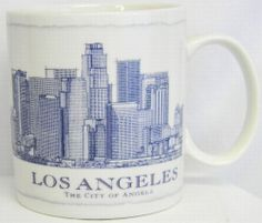 #Starbucks #Coffee Mug Los Angeles Architectural Series Collector Cup 2006 18 oz  #Starbucks