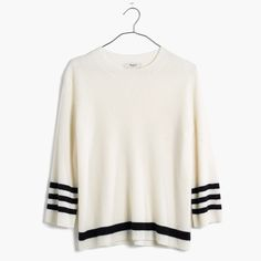 Striped Mapbook Sweater : AllProducts | Madewell