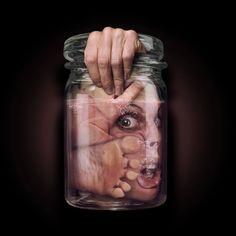 Dark Art - In a Jar ...