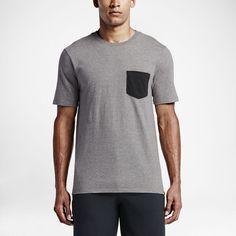 Hurley Staple Pocket Block Premium Men's T-Shirt Size Large (Dark) -  Clearance Sale